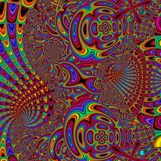 by MadFractalist on DeviantArt Rainbow Wallpaper, Fractals, Worlds Largest, Digital Art, Deviantart, Binder, Stationary, Artist, Colorful