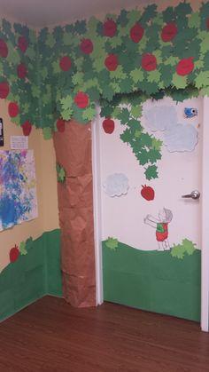"""The Giving Tree"" classroom door idea"