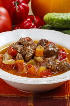 Slow Cooker Beef Vegetable Soup
