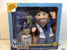 The Mensch On A Bench Book And Mensch Doll Hanukkah New Collectible Gift  | eBay