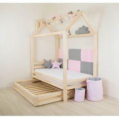 """Dětská postel DOMEČEK. Dětská dřevěná postel ve tvaru domečku """"Happy"""" - různé rozměry. Dětská domečková postel. Dětské postele ve tvaru domečku"""