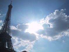 Paris skies....would luv to go!