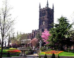 St. Peters Church , Wolverhampton. My Great-Great Grandparents were married there.
