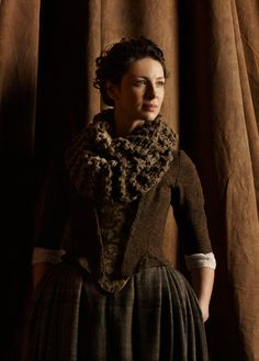 Image result for claire outlander cowl