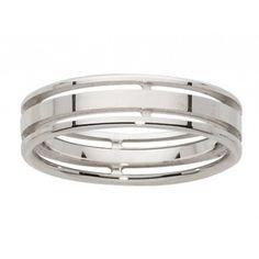 Cette #alliance pour #homme d'un #or blanc magnifique, sera parfaite autour du doigt du marié !  Ref : FB_2117545-OG                                                                                                                                                                                 Plus