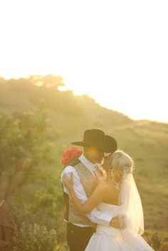 My future husband will be wearing his cowboy hat! Nothing sexier