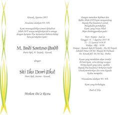 Kata kata anniversary bahasa inggris beserta arti httpahmadjn contoh undangan pernikahan murah stopboris Images