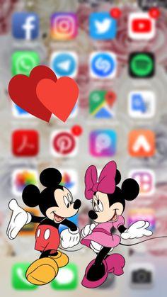 Mickey e Minnie Funny Iphone Wallpaper, Disney Phone Wallpaper, Cute Girl Wallpaper, Mood Wallpaper, Cute Wallpaper For Phone, Iphone Background Wallpaper, Cellphone Wallpaper, Cartoon Wallpaper, Cute Disney