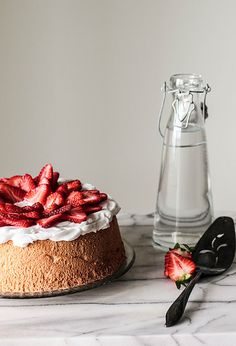 Berry Topped Angel Food Cake by pastryaffair, via Flickr