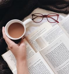 "clockworkbibliophile: ""sharluminati: "" clockworkbibliophile: ""mornings ☕️ "" while i appreciate these aesthetic pics, why are yalls glasses always laying next to the books like ?? why do you have them..."
