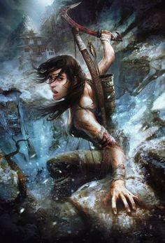 The Art of Tomb Raider   Showcase of Art & Design Like this.