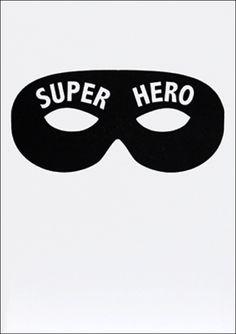 #Card Super Hero wenskaart #letterpress dubbel 12x17 from www.kidsdinge.com                            http://instagram.com/kidsdinge          https://www.facebook.com/kidsdinge/ #kidsdinge