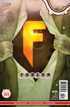 Fables #103 - Selection Day: Chapter Two of Super Team (Issue)