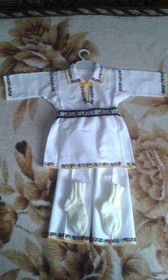 Costum popular bucovina, pentru botez baietel
