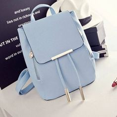 107d2e2579 Fashion Elegant Fashion Girl School Travel Softback Pu Leather Vintage  Backpack  handbags