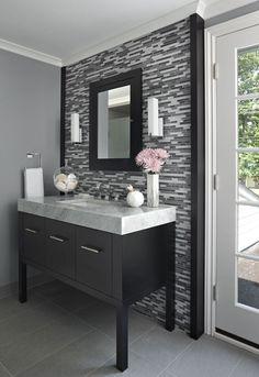 Bathroom Remodel: Furniture Style Vanity   Www.ewkitchens.com   Troy U0026 Wixom