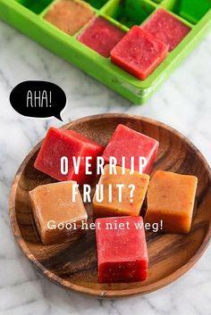 Moet jij ook veel te vaak met pijn in het hart overrijp fruit in de vuilbak kieperen? Zonde, maar met deze tips hoef je je fruit nooit meer weg te gooien!