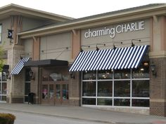 Charming Charlie's awnings.