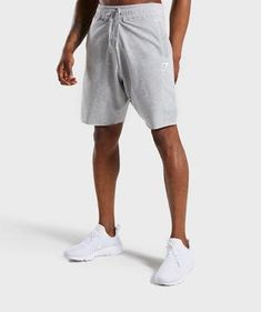Gymshark Ark Shorts - Light Grey Marl 7 Gym Shorts, Sport Shorts, Workout Shorts, Stringer Tanks, Tracksuit Bottoms, Sock Shop, Different Styles, Charcoal