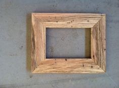 5x7 Picture Frame Handmade from Oak Wood by JonesFraming on Etsy