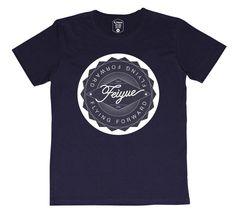 Feiyue shop | Tee shirt Feiyue patch navy