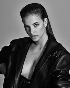 Top model Barbara Palvin is styled by Melina Chen in slick sensuality with a dose of fishnets and a menswear coat. Photographers Caleb & Gladys capture Palvin in seductive poses for Issue (South America) Issue Hair by MIchael Silva; makeup by Mark Edio Studio Photography Poses, Portrait Photography, Fashion Photography, Img Models, Seductive Pose, Photographie Portrait Inspiration, Editorial Hair, Model Test, Mode Editorials