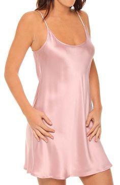 baju tidur wanita la perla Silk Chemise 10cb0d7955