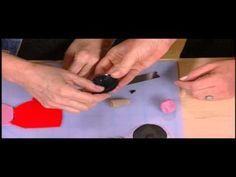 Ronna Sarvas Weltman fait une argile de polymère Pod Collier - YouTube