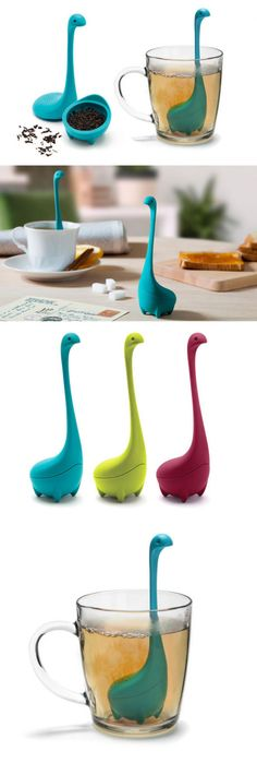 Loch Ness Monster Tea Infuser. Shut up and take my money!