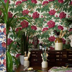 Wallpaper - Cole & Son - Folie - Bourlie - Paint & Paper Ltd