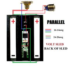 BOX MOD WIRING DIAGRAMS Vape Diy, Bronze, Kit, Mechanical Mod, Projects, Vaping