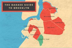Badass Guide to Brooklyn - places to visit and things to do in BK Brooklyn Baby, Brooklyn New York, New York City, Empire State Of Mind, I Love Nyc, Concrete Jungle, New York Travel, New Adventures, Paris