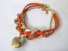 Dangling Heart Bracelet - RM29