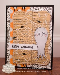 Plum Poppy Studio: Market Street Stamps : Happy Halloween!