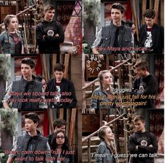 Josh and Maya are ForLife Girl Meets World Josh, Boy Meets Girl, Disney Channel Shows, Disney Shows, Disney Jokes, Disney Facts, Maya Girl, Dad Quotes From Daughter, Disney Theory