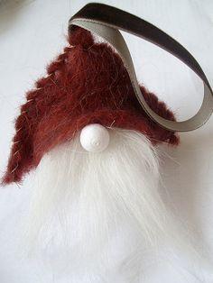 winter gnome ornament