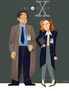 THE X-FILES by ~hotcake on deviantART I'm glad not EVERYONE forgot about Mulder and Scully