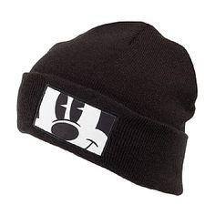 Neff Mickey Fold Beanie Hat - Black