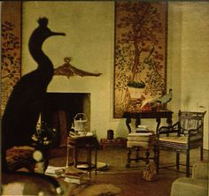 Pauline de Rothschild's Bedroom at Chateau Mouton, also from the aforementioned Vogue and also shot by Horst