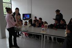 """SNCT. """"El mundo de la biblioteca"""", alumnos de Preescolar del Instituto Cultural Grecolatino (20 al 24 de octubre del 2014)."""