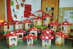* Paddenstoelenbos! gnome woodland fall autumn