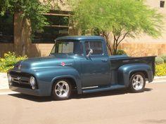 56 f100 my old school dream truck