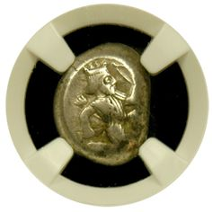 Achaemenid Empire Silver Siglos NGC Choice Very Fine