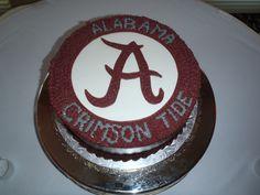 Alabama Roll Tide Cake. Alabama football Roll Tide