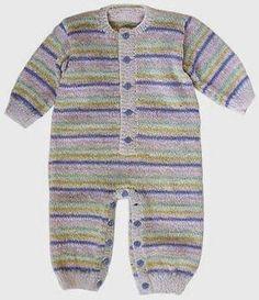 ideas for crochet bebe varon patrones Crochet Toddler Dress, Baby Afghan Crochet, Crochet Bebe, Knitting For Kids, Baby Knitting Patterns, Baby Patterns, Suit Pattern, Romper Pattern, Striped Playsuit