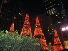 Christmas in New York City - outside Fox News