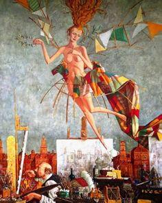 Творчество современного художника Романа Заслонова. Обсуждение на LiveInternet - Российский Сервис Онлайн-Дневников
