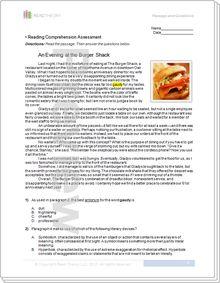 Galileo Galiliseventh Grade Reading Worksheets Grade 7