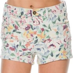 Billabong Memory Clean Finish Floral Denim Shorts These super cute shorts come brand new with tags! Billabong Shorts Jean Shorts