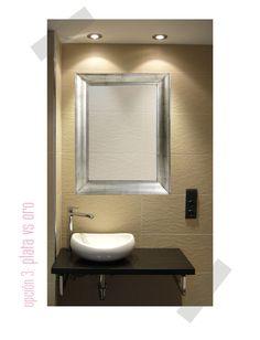 decoracin de espejos para el bao espejos pinterest decoracin de espejos espejo y bao